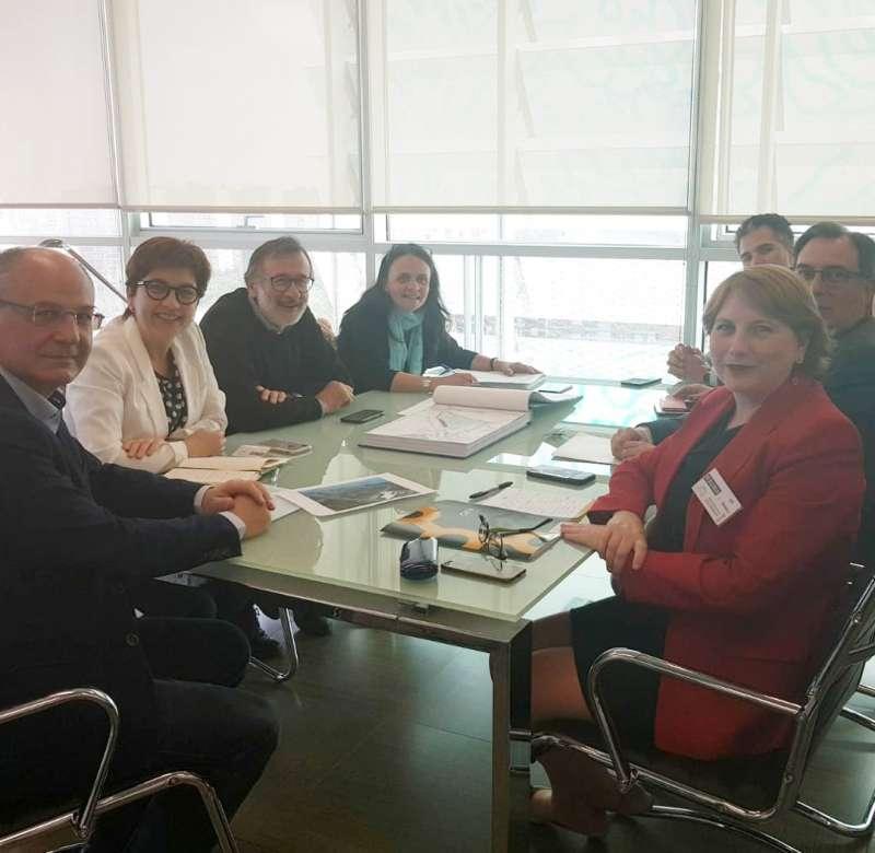 Reunión con representantes de la Confederación Empresarial de la Comunitat Valenciana. EPDA