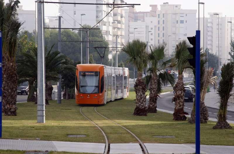 El TRAM en Alicante.