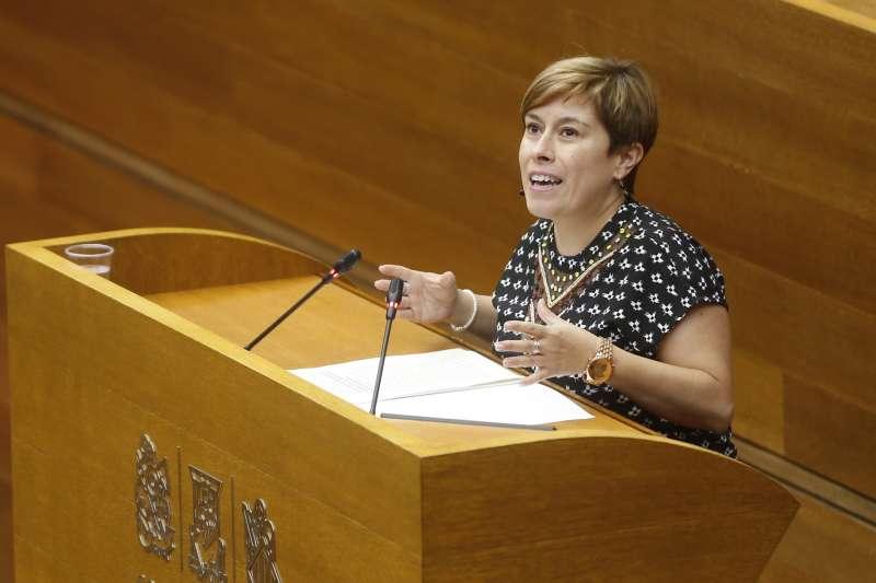 La diputada de Ciudadanos Mercedes Ventura. EFE/ Kai Forsterling/Archivo