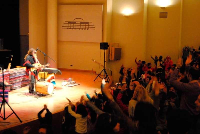 Un momento del concierto del Palau de la Música. //EPDA