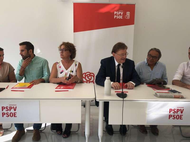 Comisión Ejecutiva Nacional del PSPV. EPDA