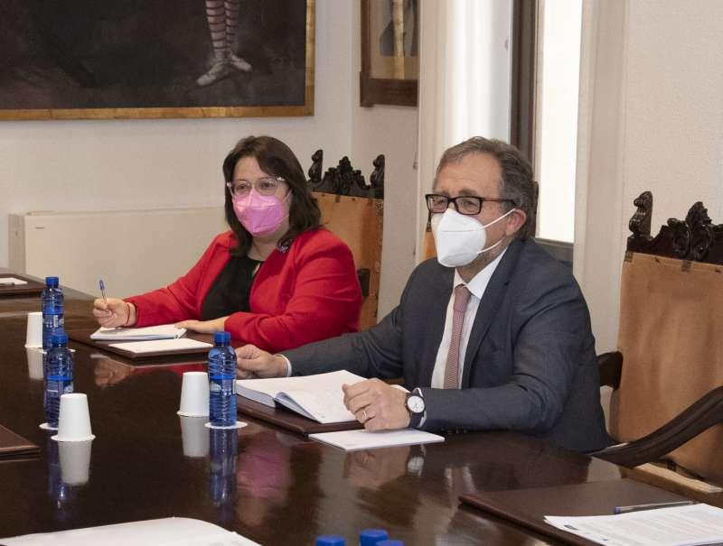 Ruth Sanz y José Martín