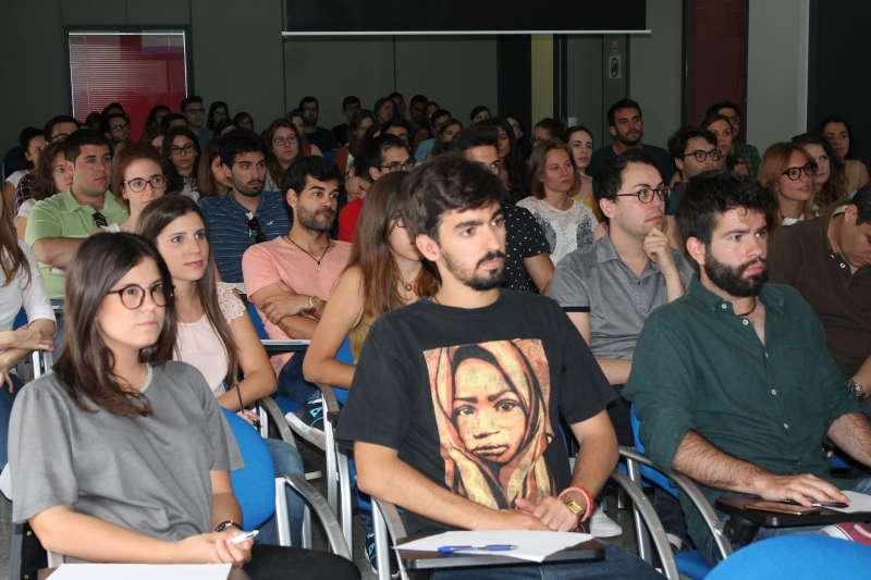 Algunos de los estudiantes participantes. FOTO EPDA
