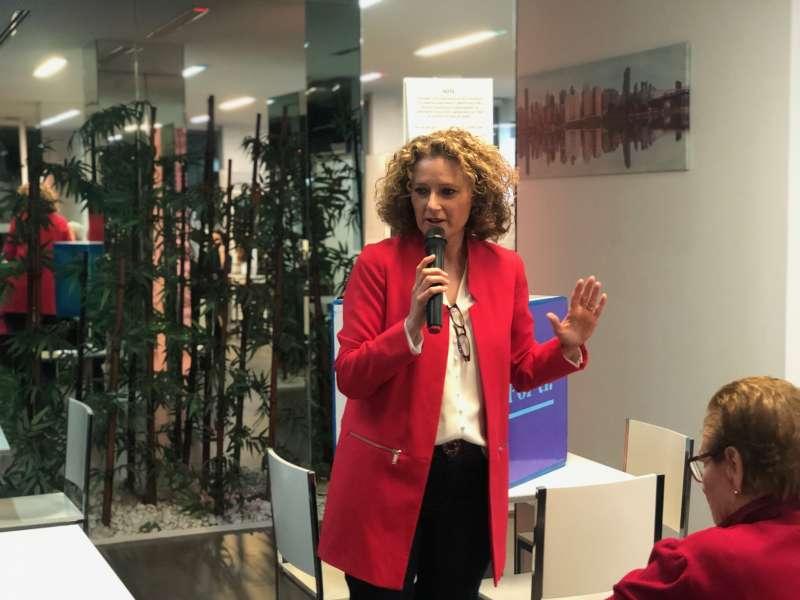 La candidata del Partido Popular a la alcaldía de Torrent, Amparo Folgado