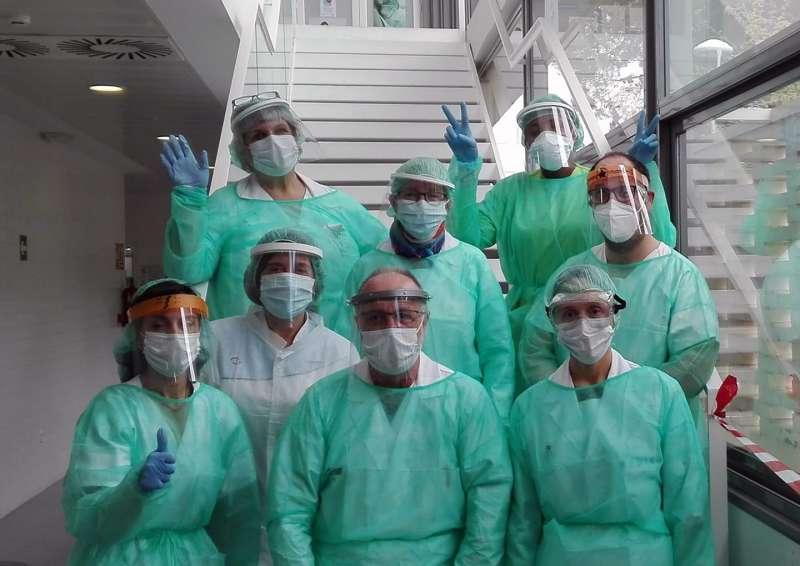 Personal del centro de salud de Albalat dels Sorells. epda