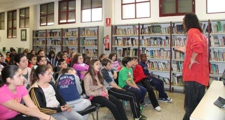 La jornada del jueves se centrará en dinámicas de lectura, comprensión y reflexión lectora, y estará dirigida al grupo de accesibilidad; y a 3º y 4º de Primaria. FOTO: EPDA.