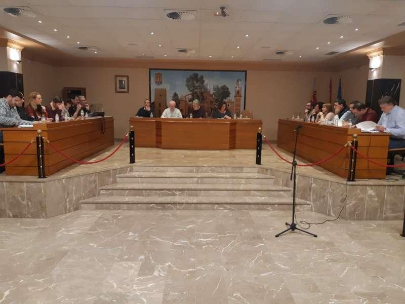Celebración de un pleno en Albal. EPDA