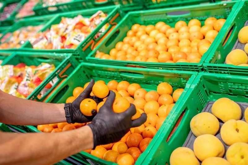 Mandarinas de origen nacional en la sección de frutas de Mercadona, en una imagen compartida por la cadena de supermercados.