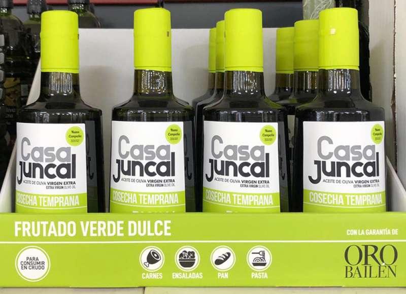 Mostrador Aceite Mercadona./EPDA