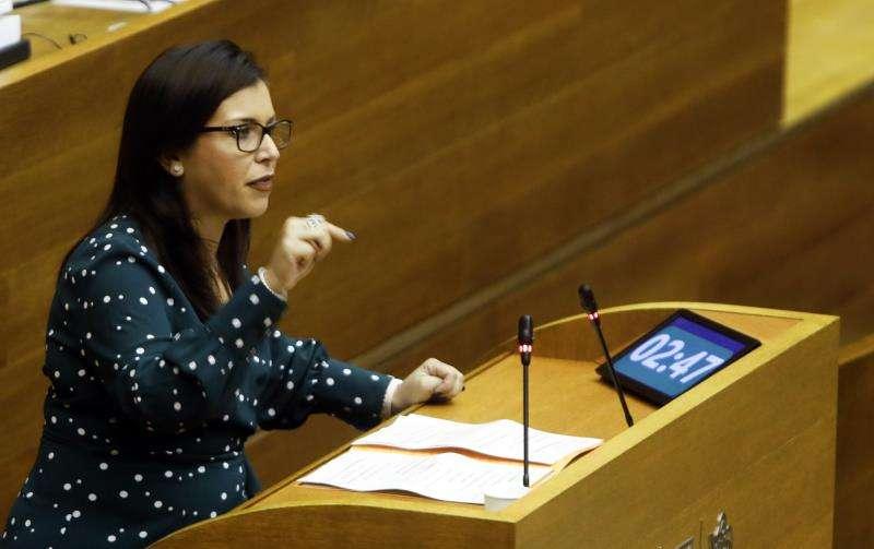 La portavoz del grupo parlamentario de Ciudadanos, Mari Carmen Sánchez. EFE/Archivo
