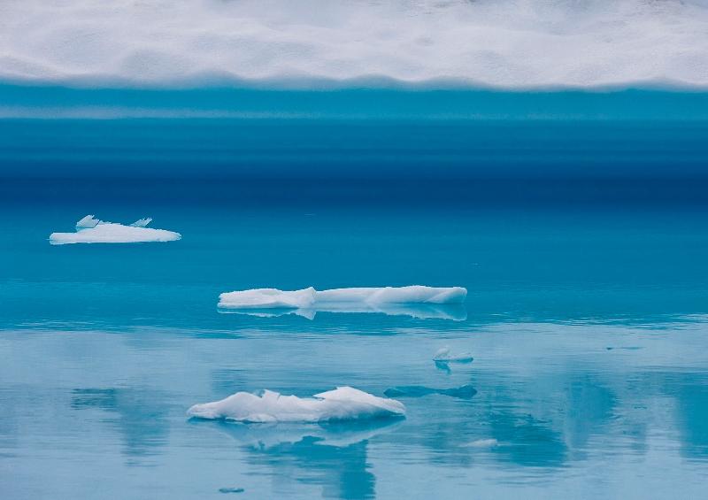 Imagen del deshielo en el ártico (Greenpeace)