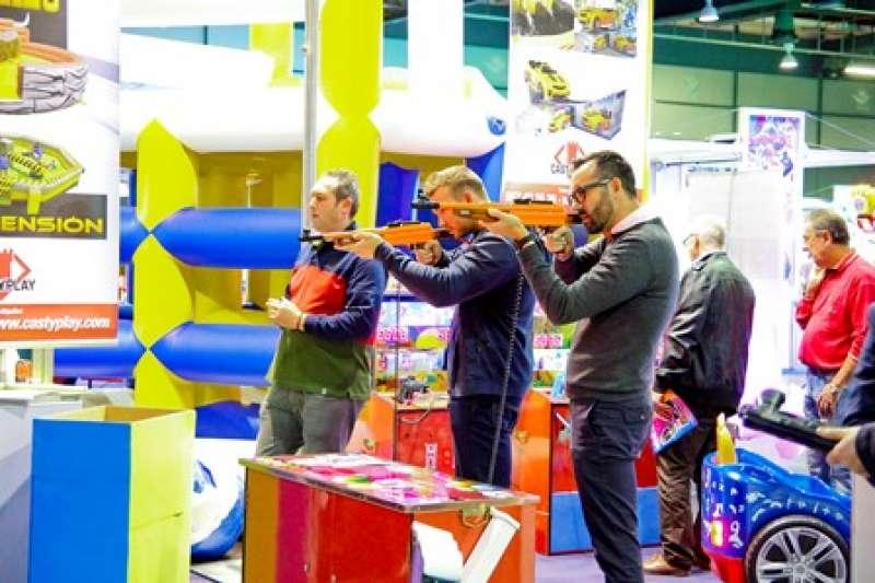 Feria del sector de atracciones. EPDA