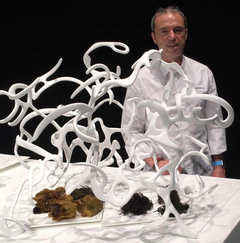 Una muestra de fusión entre dos artes: Gastronomía y Escultura que expondrá Teulada en Fitur