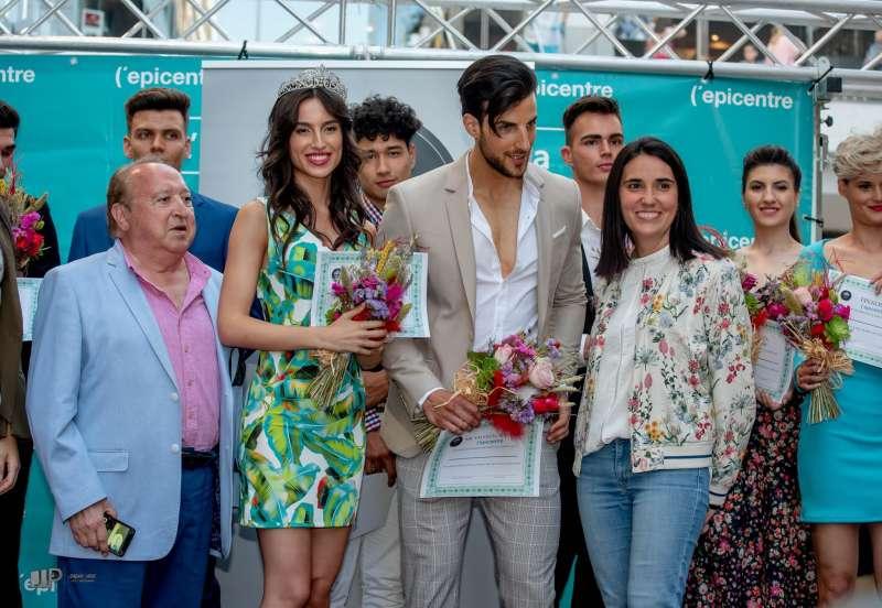 Los ganadores Rosa Nouvilas y Andrés Ogando