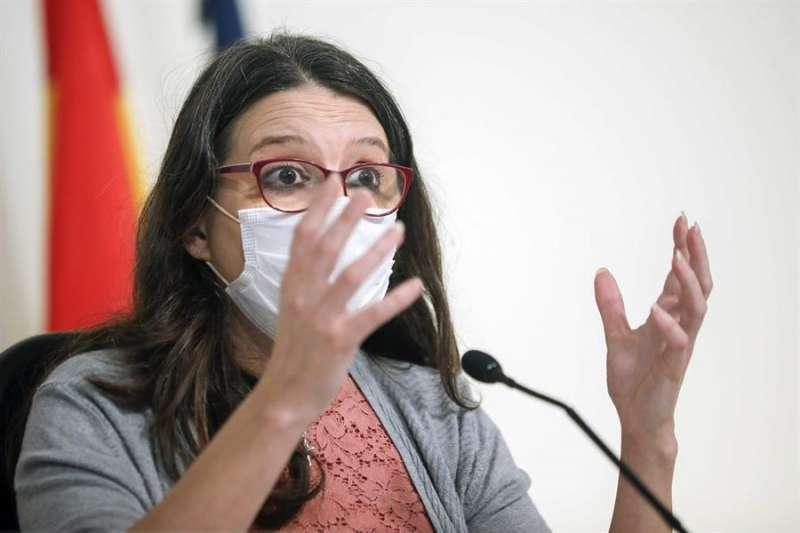 La vicepresidenta y consellera de Igualdad y Políticas Inclusivas, Mónica Oltra. / EPDA