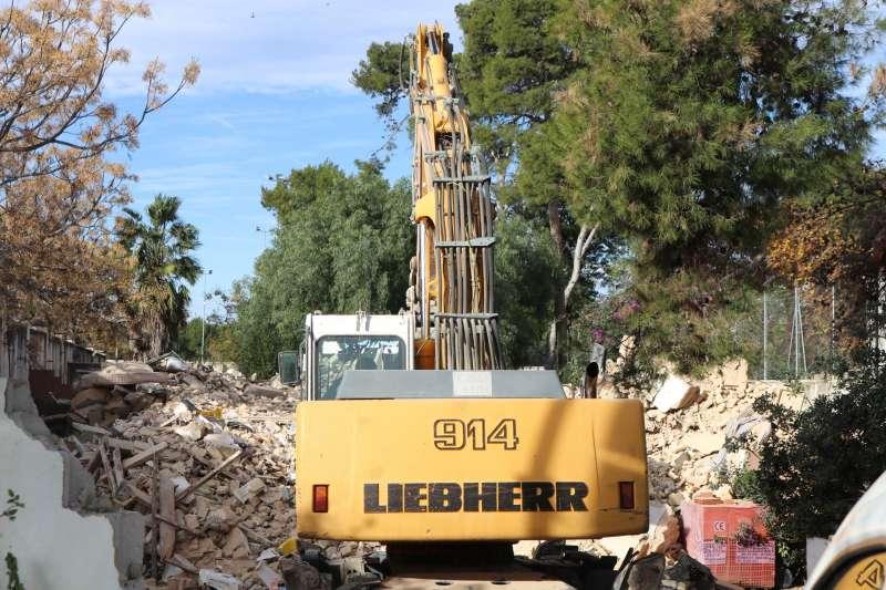 Obras de demolición. EPDA