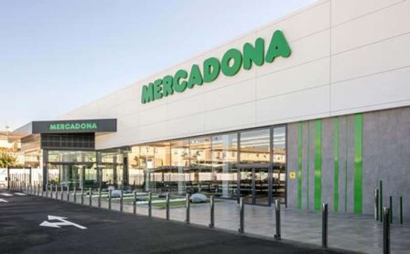 Nuevo Supermercado Eficiente de Mercadona en Peligros Granada. epda