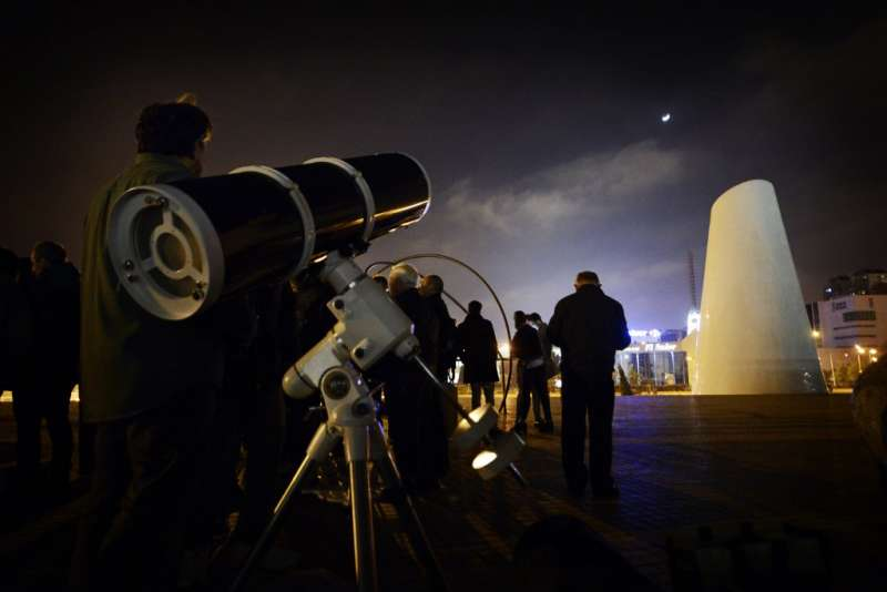 Jardín de Astronomía del Umbracle. EPDA