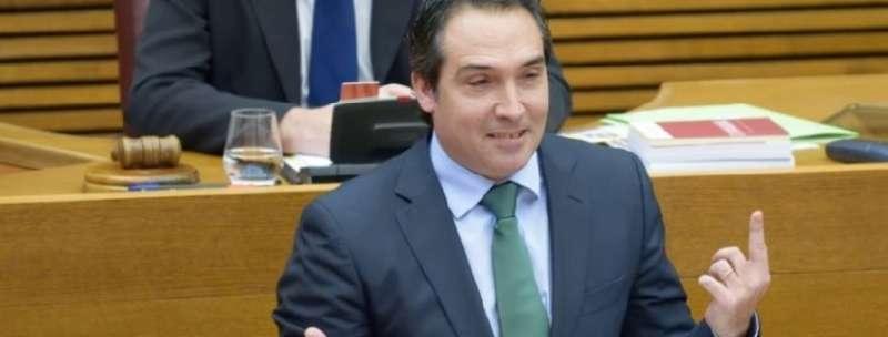 El portavoz de Economía del Grupo Parlamentario Popular en Les Corts, Rubén Ibañez