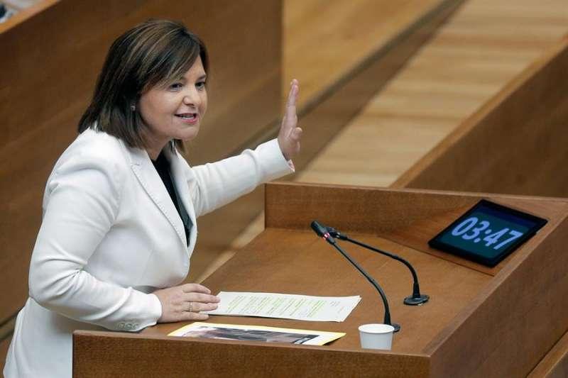La presidenta del PPCV y portavoz del grupo parlamentario popular, Isabel Bonig, en una imagen de archivo.EFE/Kai Försterling