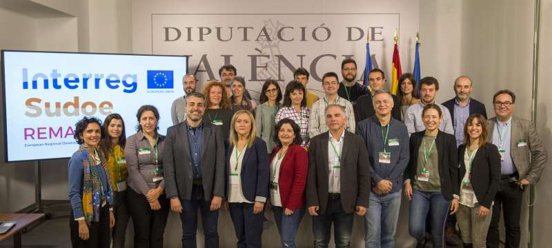 Reunión de trabajo Proyectos Europeos REMAS