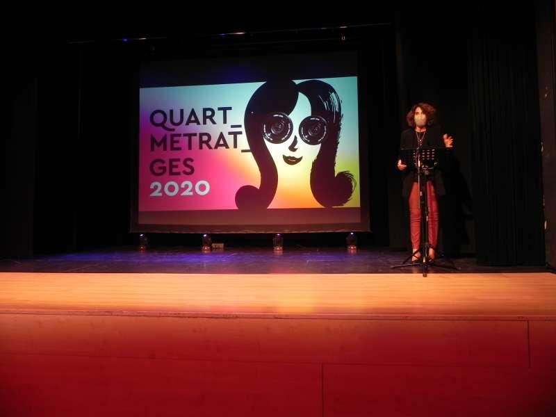 Inaguración del festival Quartmetratges 2020