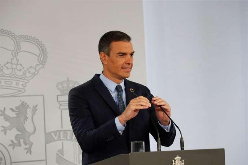 El presidente del Gobierno, Pedro Sánchez. EPDA