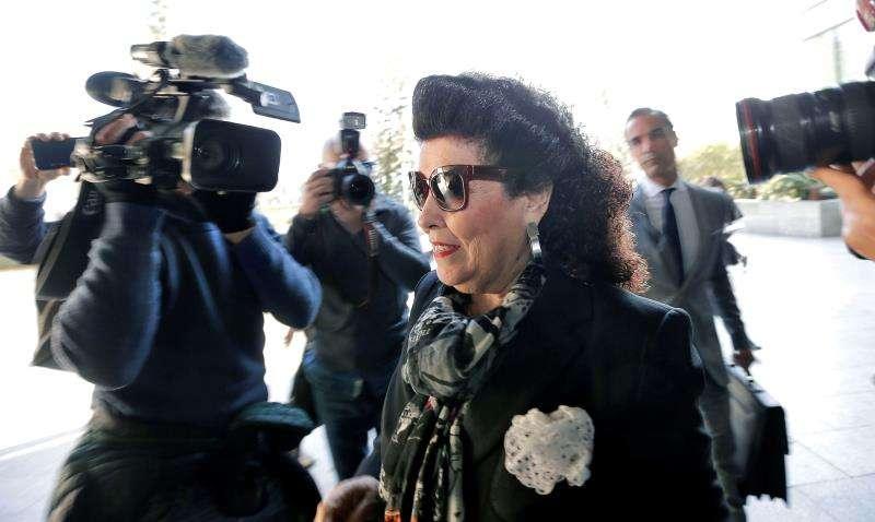 La jueza del caso IVAM investigó si Blasco y Císcar blanquearon en Miami. La exdirectora del Instituto Valenciano de Arte Moderno (IVAM) Consuelo Císcar. EFE