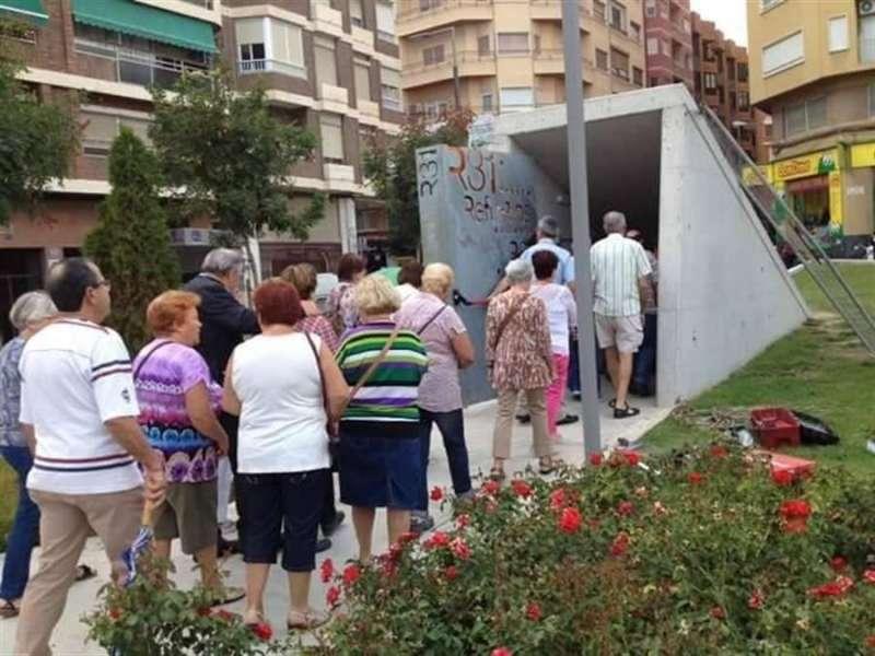 Imagen cedida por el Ayuntamiento de Alicante de uno de los refugios antiaéreos de la ciudad. EFE