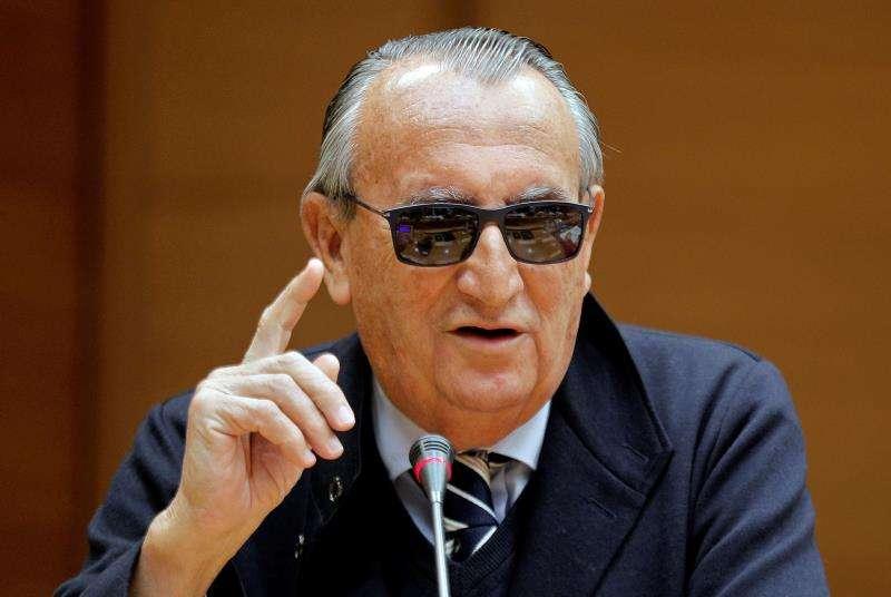 El expresidente de la Diputación y del PP de Castellón Carlos Fabra. EFE/Archivo
