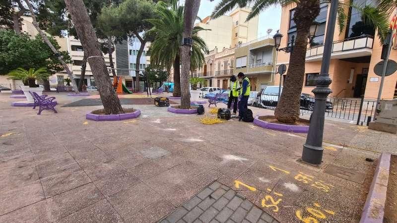 Albal trabajos de urbanismo. EPDA