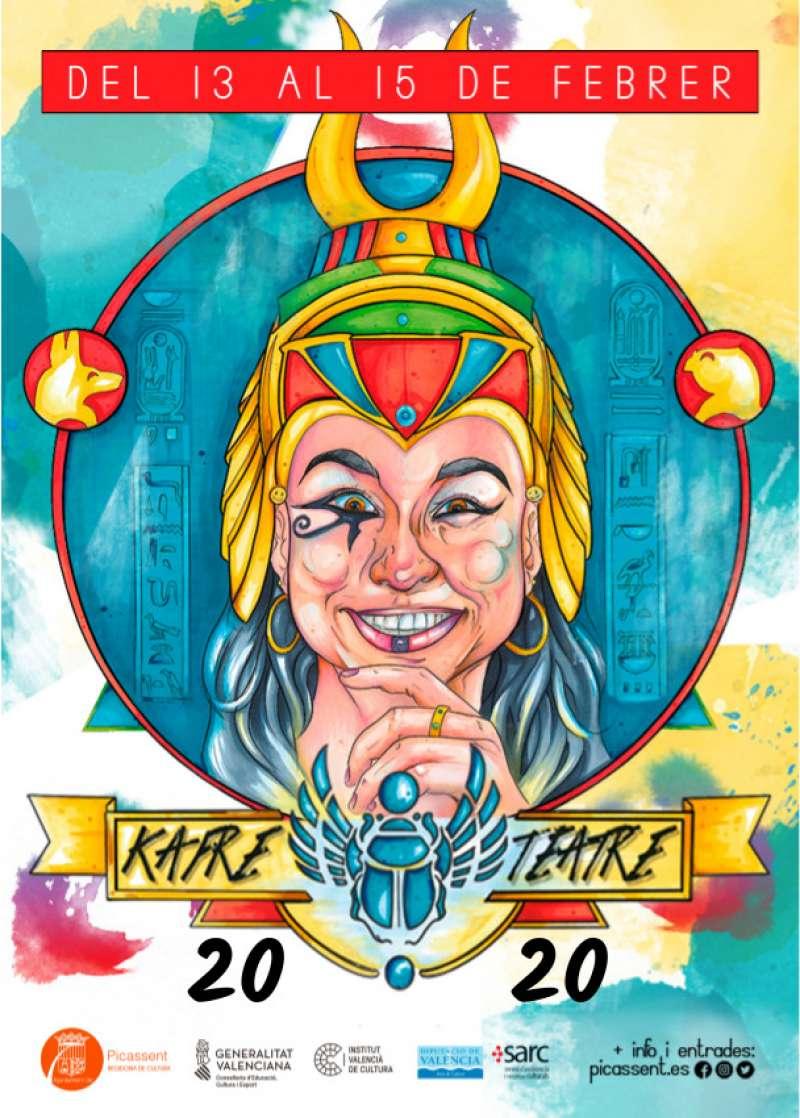 Cartell de Kafre Teatre. EPDA
