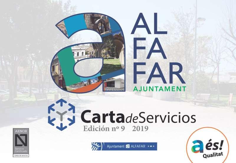 Carta de servicios de Alfafar. EDPA