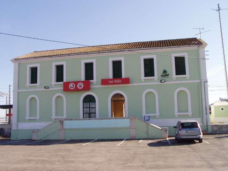 Estació de Les Valls. EPDA