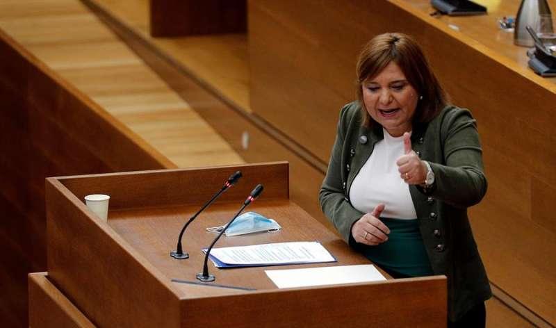 La presidenta del PPCV y síndica en Les Corts, Isabel Bonig, en una imagen de archivo. EFE/Manuel Bruque