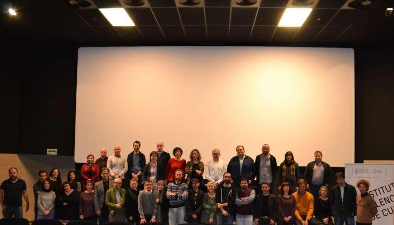 Inauguració de la trobada de filmoteques.