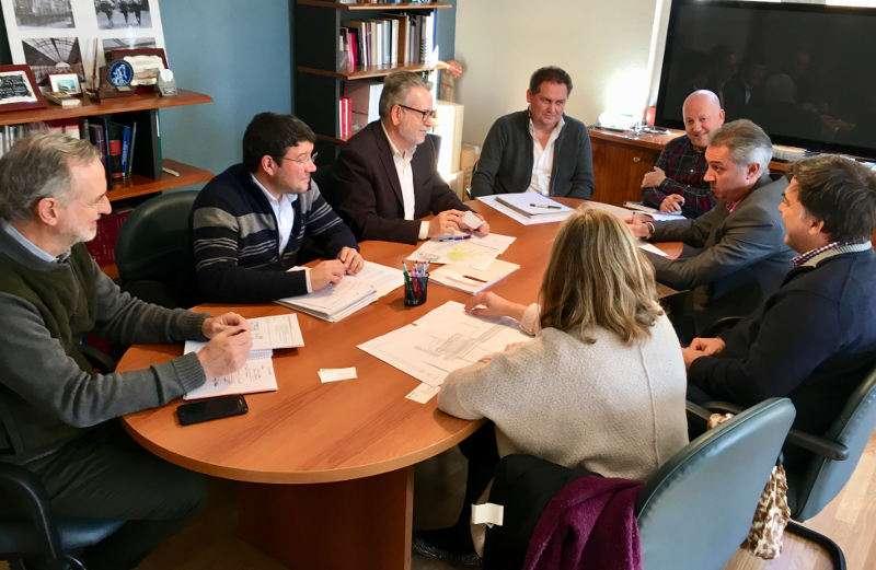 Reunión entre el Ayuntamiento de Albal y responsables de Adif. EPDA