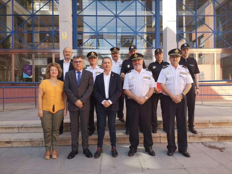 Visita del Delegat del Govern en Xirivella. EPDA