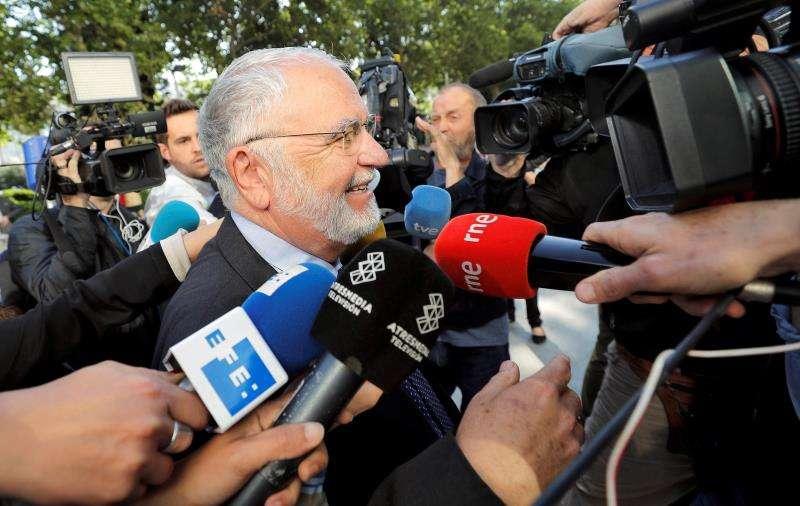 El exvicepresidente del Gobierno valenciano Juan Cotino. EFE