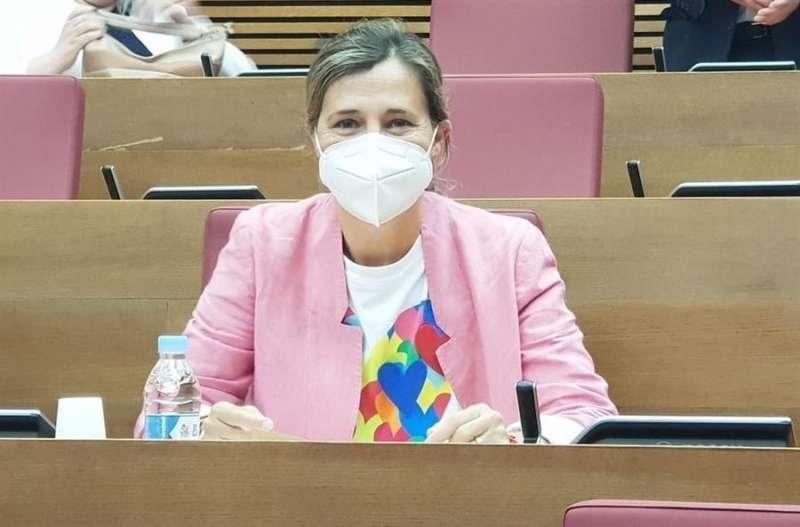 La portavoz de Política Social del PPCV, Elena Bastidas. EFE/PPCV