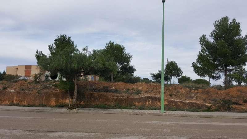 Parcela recuperada por el consistorio de Riba-roja  para zona verde.
