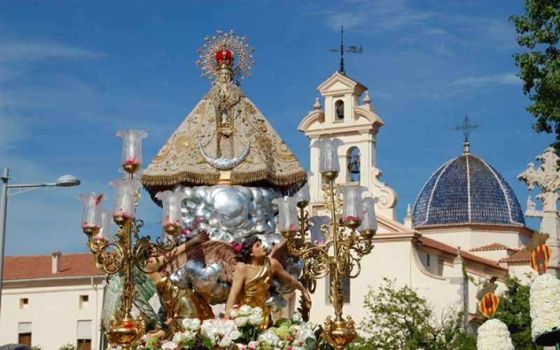 La Mare de Déu de Lledó en su ermita