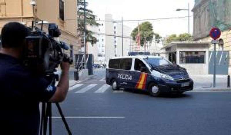 Una imagen de archivo de las dependencias policiales de Zapadores, en València. EFE