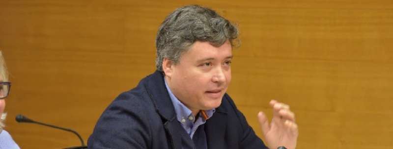 El presidente de la gestora del Partido Popular de Valencia, Luis Santamaría