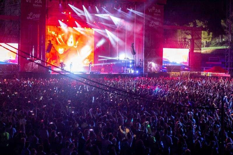l escenario principal del Low durante el concierto de Fangoria
