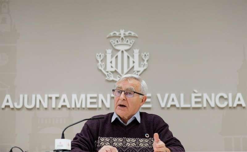 El alcalde de València, Joan Ribó, en una imagen de archivo. EFE/Manuel Bruque