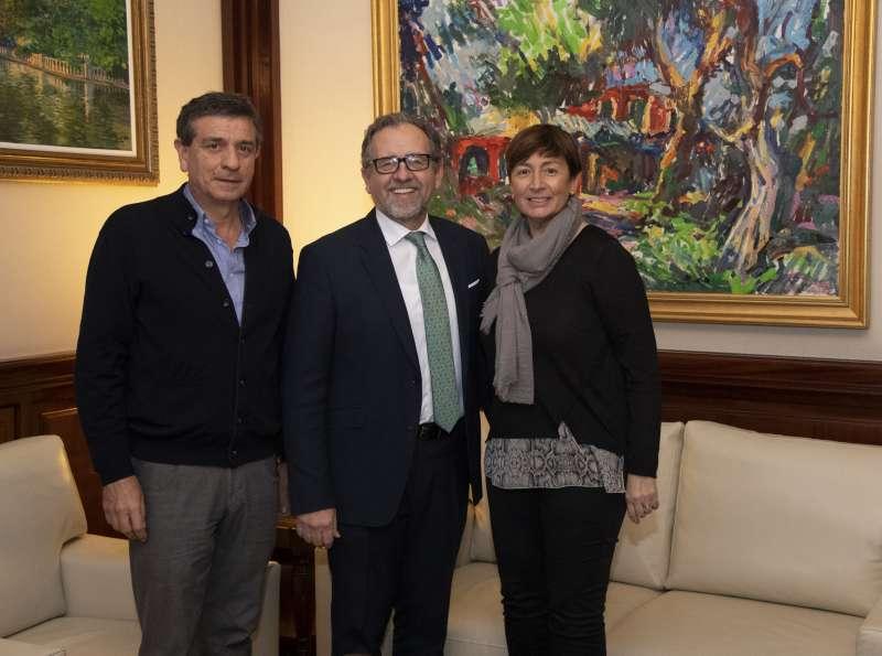 Climent y Hervás recibidos por Martí