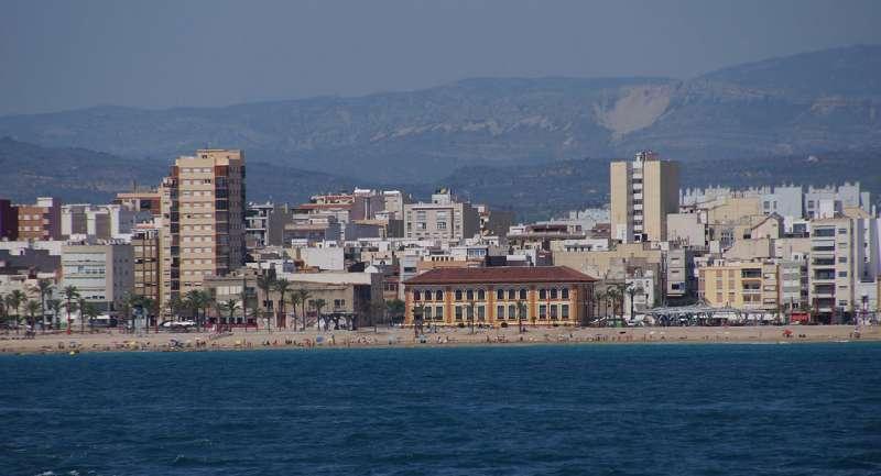 Playa del Fortí de Vinaròs