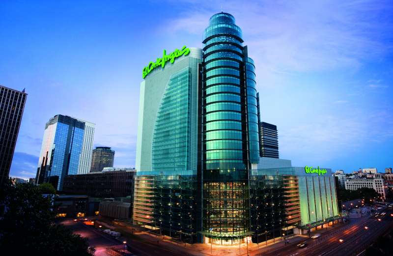 El Corte Inglés, la central de Madrid.