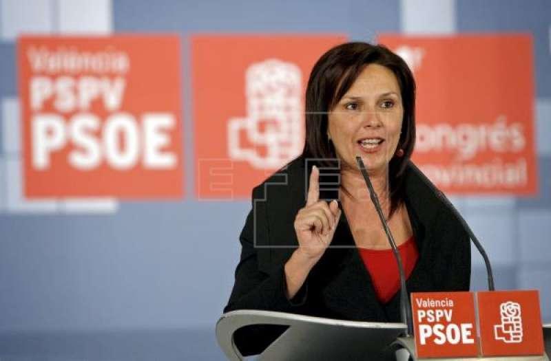 La portavoz de Sanidad del PSPV-PSOE en Les Corts, Carmen Martínez, EFE.